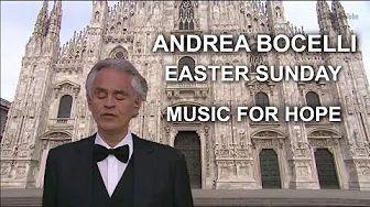 Andrea Bocelli Easter Sunday 2020 Music For Hope
