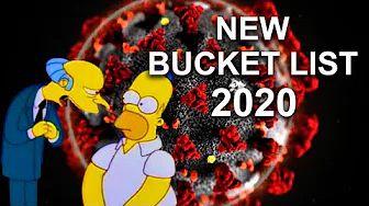 New Bucket List 2020