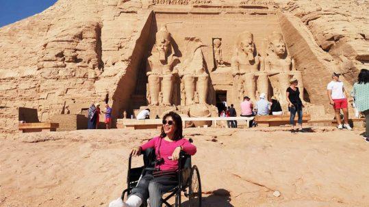 Wheelchair Travel in Egypt and Jordan Nov 2019