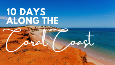 A 10 Day Road Trip along the Coral Coast of Western Australia