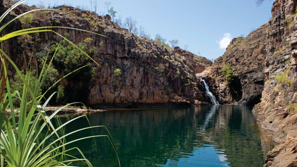 Kakadu_Swimming_Hole_and_waterfall
