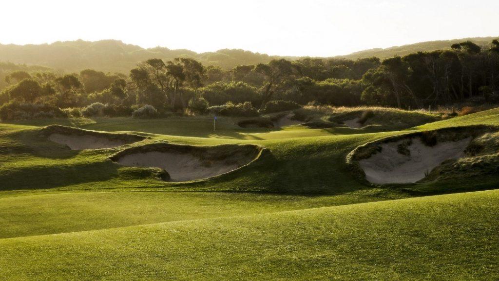 Bunkers at The National Golf Club, Mornington Peninsula, VIC