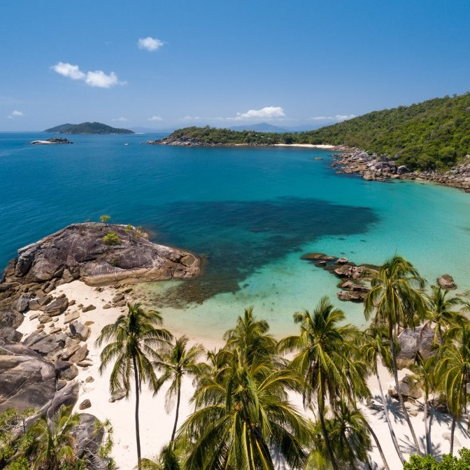Bedarra Island beach