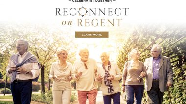 Celebrations with Reconnect on Regent