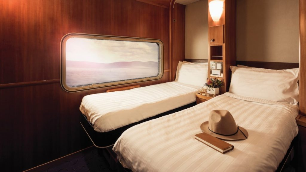 The Ghan Platinum Service Cabin