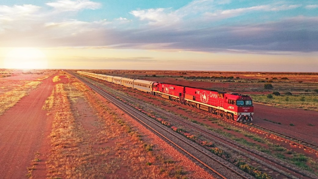 The Ghan outback train journey