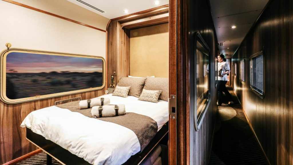 The Ghan Platinum Service Twin Cabin
