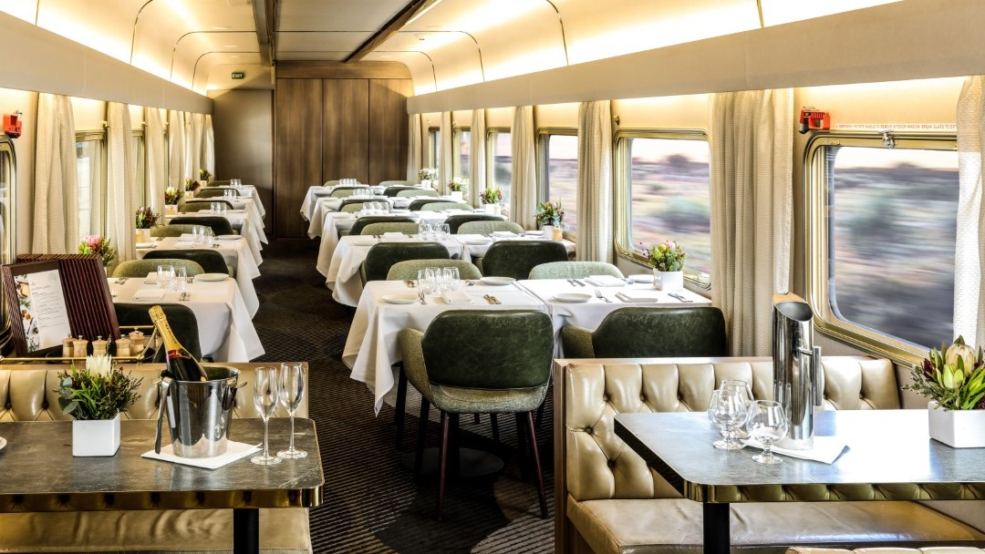 The Ghan Platinum Service Dining