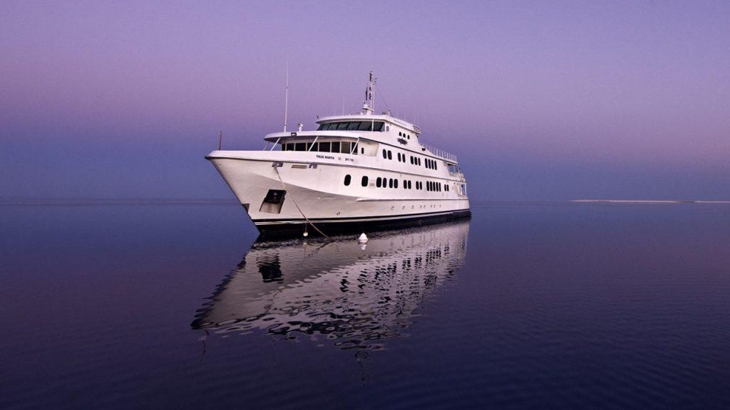 Luxury Yacht True North