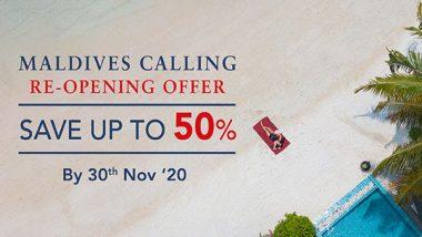 Centara Maldives Calling – Reopening Offer