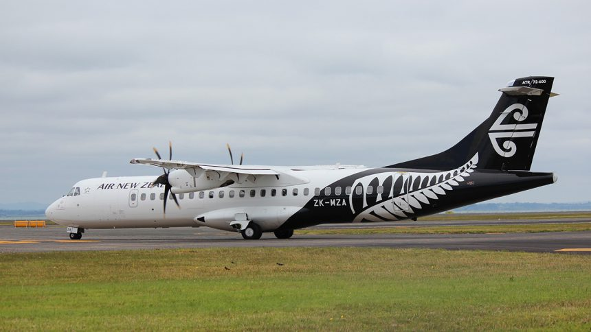 Air New Zealand – Auckland to Brisbane on 7th January